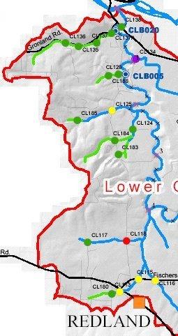 Northwest Lower Clear Creek Basin